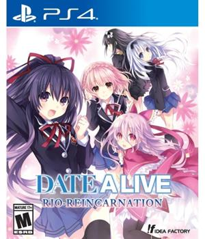 Game - Playstation 4 Date A Live: Rio Reincarnation Book