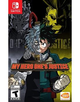 Game - Nintendo Switch My Hero One's Justice Book