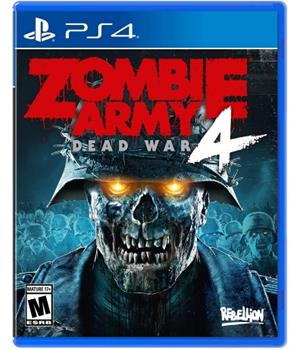 Game - Playstation 4 Zombie Army 4: Dead War Book