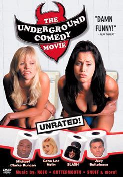 DVD The Underground Comedy Movie Book