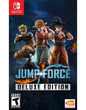 Game - Nintendo Switch Jump Force Deluxe Edition Book