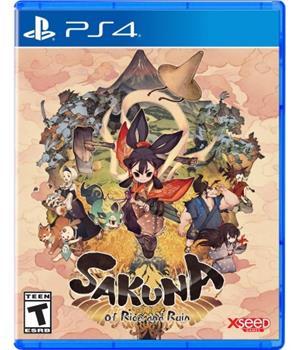 Game - Playstation 4 Sakuna: Of Rice And Ruin Book