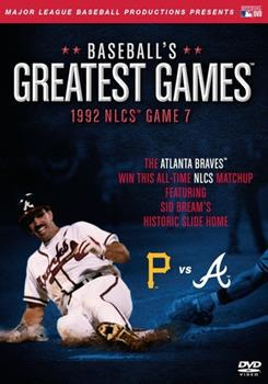 DVD Baseball's Greatest Games: 1992 NLCS Game 7 Book
