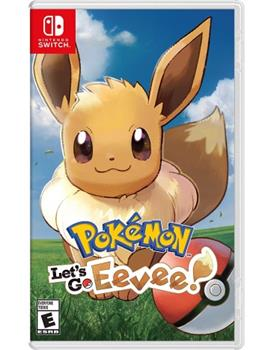 Game - Nintendo Switch Pokemon: Lets Go Eevee Book