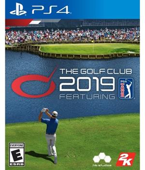 Game - Playstation 4 Golf Club 2019 Featuring The PGA Tour Book