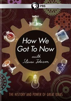 DVD How We Got to Now with Steven Johnson Book