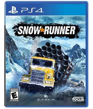 Game - Playstation 4 Snowrunner Book