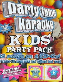 Music - CD Party Tyme Karaoke: Kids Party Pack Book