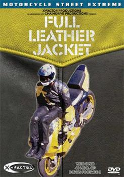DVD Full Leather Jacket Book