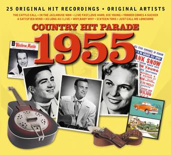 Music - CD Country Hit Parade- 1955 Book