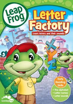DVD Leapfrog: Letter Factory Book
