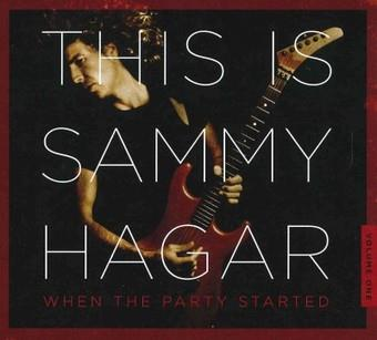 Music - CD This Is Sammy Hagar: When the Party Started * Book