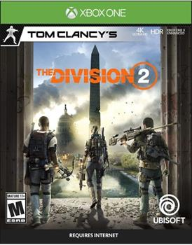 Game - Xbox One Tom Clancy's the Division 2 Book