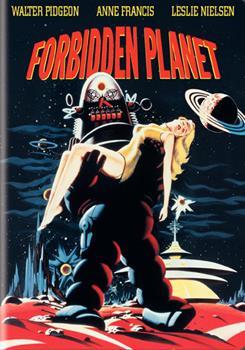 DVD Forbidden Planet Book