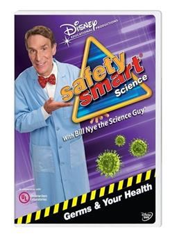 DVD Bill Nye the Science Guy: Germs / Health Book