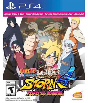 Game - Playstation 4 Naruto Shippuden Ultimate Ninja Storm 4: Road to Boruto Book