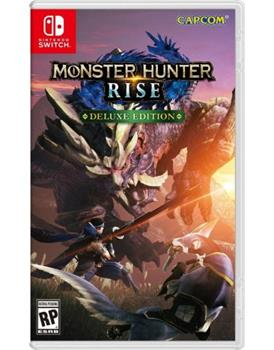 Game - Nintendo Switch Monster Hunter: Rise Deluxe Edition Book