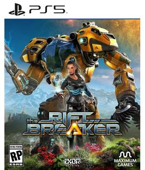 Game - Playstation 5 The Riftbreakers Book