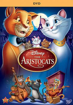 DVD The Aristocats Book
