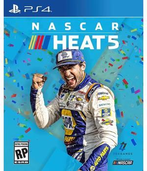 Game - Playstation 4 NASCAR Heat 5 Book