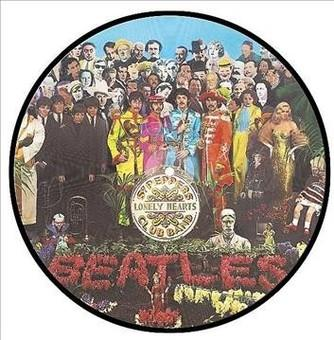 Vinyl Sgt. Pepper's Lonely Hearts Club Band (Picture Dis Book