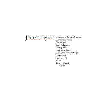 Music - CD James Taylor's Greatest Hits (2019 Remaster) Book