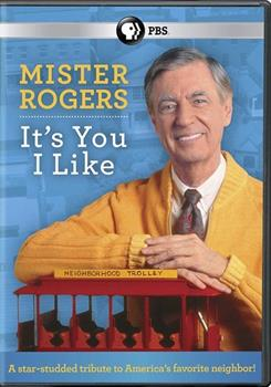 DVD Mr. Rogers: It's You I Like Book