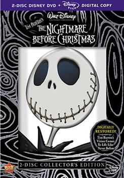 DVD Tim Burton's The Nightmare Before Christmas Book