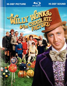 Blu-ray Willy Wonka And The Chocolate Factory Book