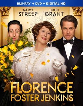 Blu-ray Florence Foster Jenkins Book