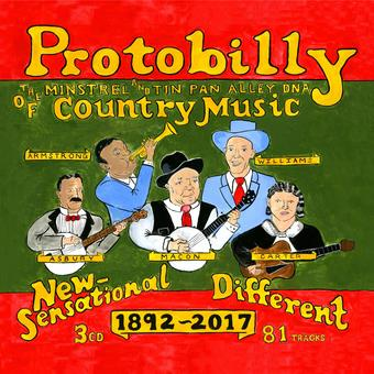 Music - CD Protobilly: The Minstrel And Tin Pan Alley Dna Of  Book