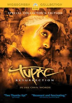 DVD Tupac: Resurrection Book