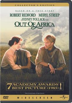 DVD Out of Africa Book