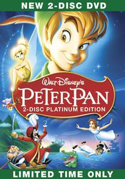 DVD Peter Pan Book