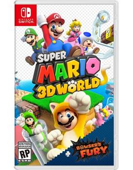 Game - Nintendo Switch Super Mario 3D World-Bowser's Fury Book