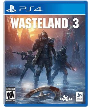 Game - Playstation 4 Wasteland 3 Book