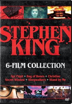 DVD Stephen King 6-Film Collection Book