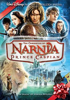 DVD Chronicles of Narnia: Prince Caspian Book