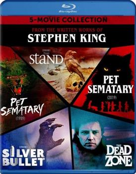 Blu-ray Stephen King 5-Movie Collection Book