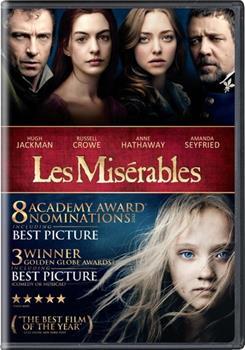 DVD Les Miserables Book