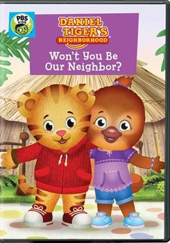 DVD Daniel Tiger's Neighborhood: Won't You Be Our Neighbor? Book