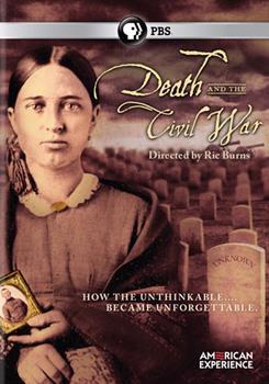DVD American Experience: Death & the Civil War Book