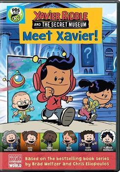 DVD Xavier Riddle and the Secret Museum: Meet Xavier! Book
