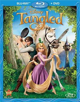 Blu-ray Tangled Book