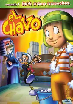 DVD El Chavo Animado Volume 4 Book