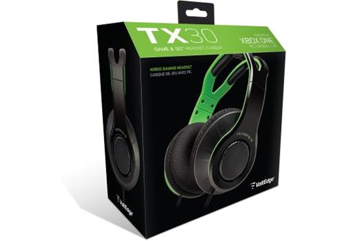 Game - Xbox One VoltEdge Tx30 Headset For XB1 (black W/green Accents) Book