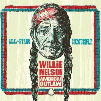 Music - CD Willie Nelson American Outlaw (Live at Bridgestone Book