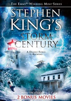 DVD Stephen King's Storm of the Century Book
