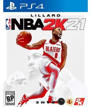 Game - Playstation 4 NBA 2K21 Book