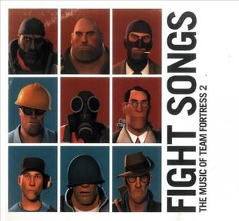 Music - CD Fight Songs: The Music Of Team Fortress 2 (OST) Book